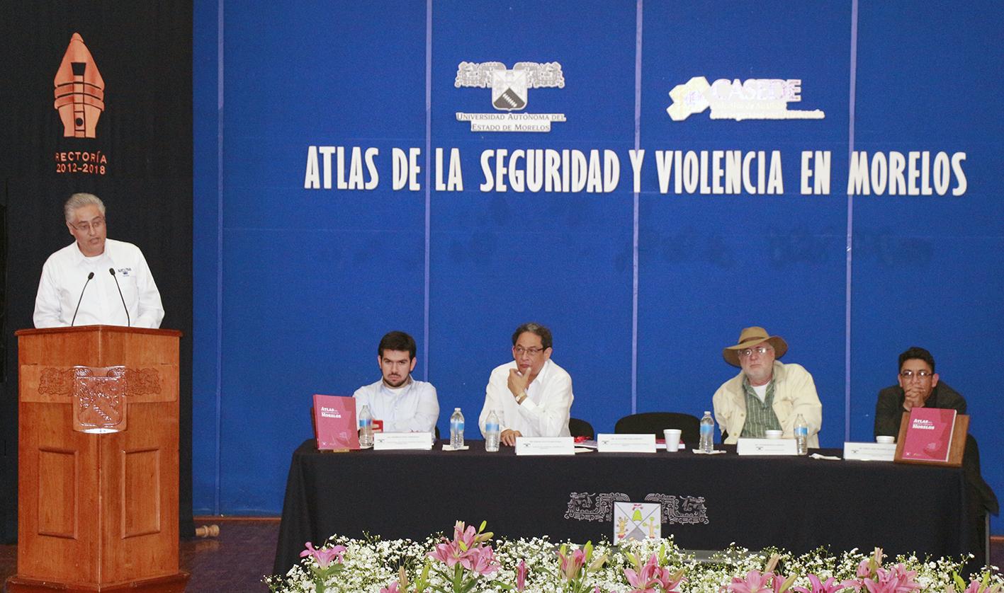 Atlas de la seguridad y violencia en Morelos. Presencia en medios