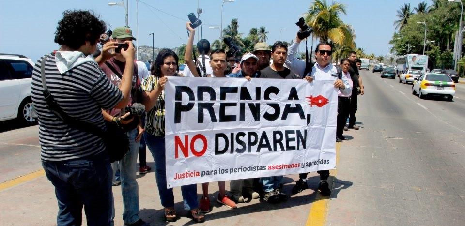 Periodistas amenazados o en riesgo