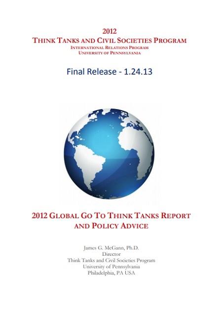 Think Tanks and Civil Societies Program