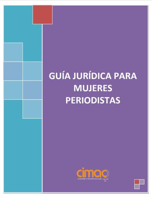 Guía jurídica para mujeres periodistas