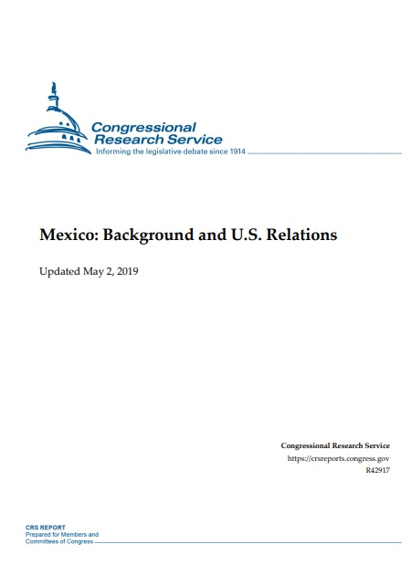 Mexico: Background and U.S. Relations