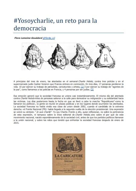 #Yosoycharlie, un reto para la democracia