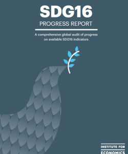 Sustainable Development Goal 16 (SDG16), Progress Report
