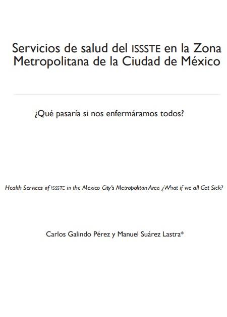 Servicios de salud del issste en la Zona Metropolitana de la Ciudad de México