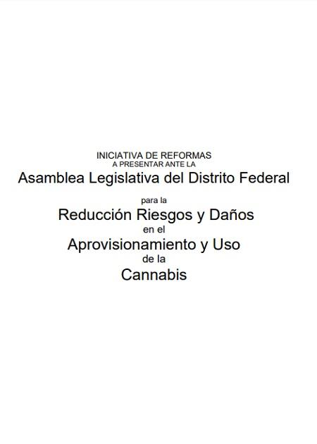 Iniciativa de reformas para la reducción riesgos y daños en el aprovisionamiento y uso de la cannabis