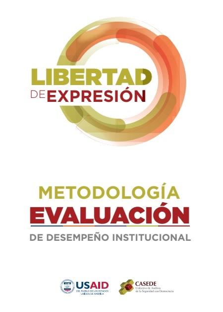 Metodología Evaluación de Desempeño Institucional