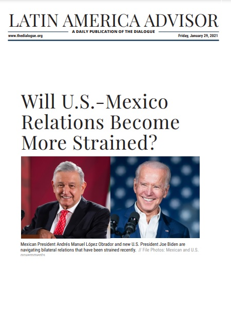 Will U.S.-Mexico Relations Become More Strained?