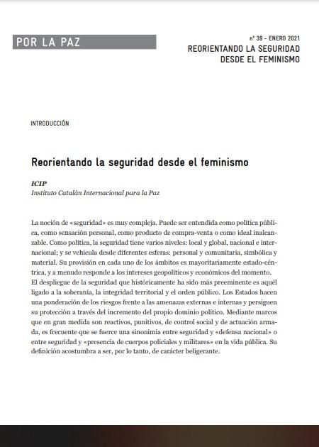 Reorientando la seguridad desde el feminismo