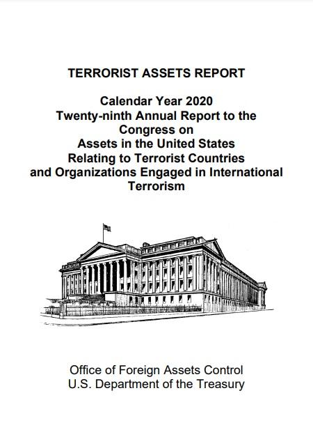 Terrorist  Assets Report - Calendar Year 2020