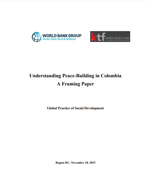 Understanding Peace-Building in Colombia