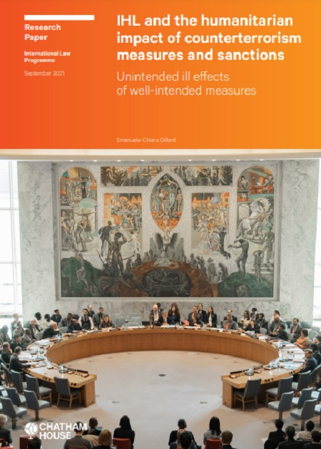 IHL and the humanitarian impact of counterterrorism measures and sanctions